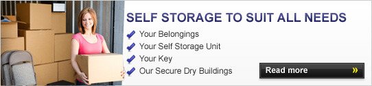 Self storage to suit all needs